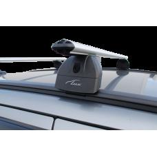 Багажная система с дугами 1,3м аэро-классик (53мм) Mitsubishi Outlander III 2012-... г.в. / Pajero Sport 2016 -