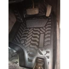 Коврики в салон Mitsubishi Pajero 2 1991-1999 5дв правый руль (полиуретан)