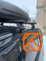 Багажник на крышу Toyota Isis 2005-2015 Lux АЭРО