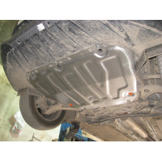 Защита картера и кпп Ford Focus III 2011-  2 мм, Сталь