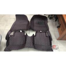 Кожаные коврики 3D для Nissan Juke 2011- правый руль