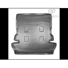 Коврик в багажник Toyota Land Cruiser 200 2007-2015 длинный (полиуретан) Norplast