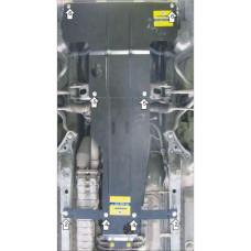 Защита картера и КПП для TOYOTA Mark II / Progress 2000-2004 задний привод.