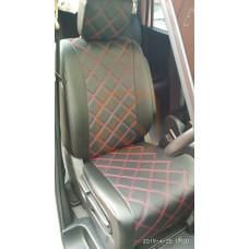 Чехлы Nissan Serena 26 2010-2016 на 2 ряда Автостиль
