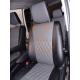 Чехлы из экокожи Toyota Noah / Voxy 80/85 2014- второй ряд 60/40