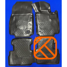 Коврики в салон Mazda Demio 2013-> / CX3 правый руль полиуретан