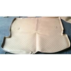 Коврик в багажник TOYOTA Ipsum 21/26, 2001– 2007, бежевый длинный (полиуретан)