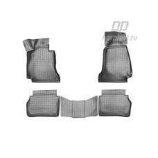 Коврики в салон MERCEDES-BENZ E-class (W213), 2016->, седан (полиуретан)