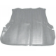 Коврик в багажник TOYOTA Land Cruiser 100 1998-2007, серый  (полиуретан)