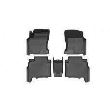 Коврики резиновые 3D PREMIUM для Toyota Hilux (2015-)
