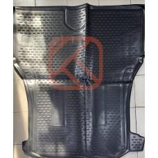 Коврик в багажник Honda Freed 2008-2016 7 местный длинный  (полиуретан)