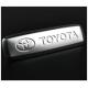 Металлический автолэйбл для ковриков Toyota