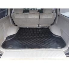 Коврик в багажник Toyota Land Cruiser 100 1998-2007 (полиуретан, с бортом)