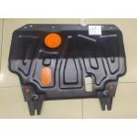 Защита картера и КПП Nissan AD \ Wingroad Y12 \ Sentra \ Tiida \ NV200 2005- сталь 2мм