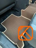 Коврики в салон EVA 3D Volkswagen Tiguan 2016-> Mk2