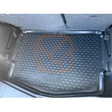 Коврик в багажник  NISSAN Note E12, 2012->  хетчбек, 1шт. (полиуретан)