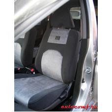 Чехлы из экокожи Honda HR-V 1998 - 2002 год 5 дверный сзади бугры