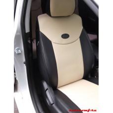 Чехлы из экокожи Hyundai Avante 2011-2014 Автокомфорт