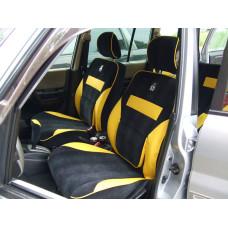 Чехлы из экокожи Mitsubishi Pajero Io 1998-2007