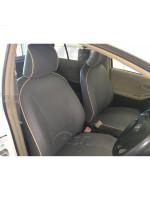 Чехлы Toyota Vitz 90 2005-2010 задняя спинка раздельная 60/40 Автокомфорт