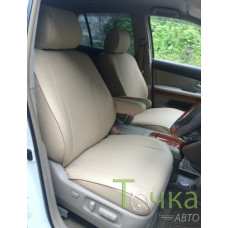 Чехлы из экокожи Toyota Harrier 2003-2012