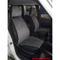 Чехлы из экокожи Chevrolet Niva 2014-