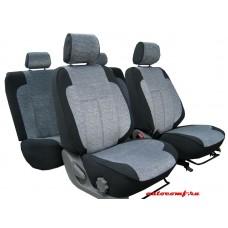 Чехлы из экокожи Toyota Corolla \ Axio Luxel  2007-2012