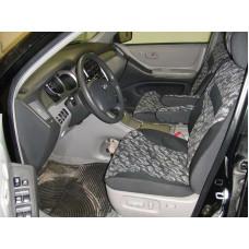 Чехлы из экокожи Toyota Kluger 2003-2007