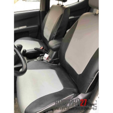 Чехлы из экокожи Mitsubishi L200 2013-2015