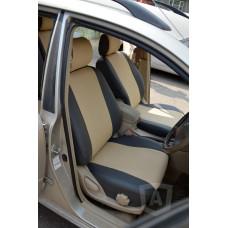 Чехлы из экокожи Toyota Allex- Runx 2001-2006