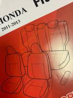 Чехлы из экокожи Honda Fit Shuttle 2011-2014