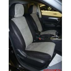 Чехлы из экокожи Nissan Sentra 2014-