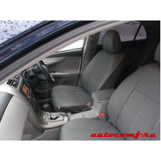 Чехлы из экокожи Toyota Axio 2006-2012  Автокомфорт