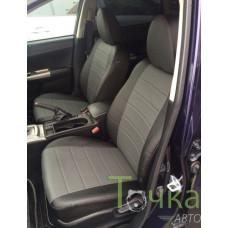 Чехлы экокожа для Subaru Impreza 2007-2011 Линия Бизнеса
