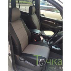 Чехлы Toyota Land Cruiser Prado 120 2002-2009 пр. руль Автостиль