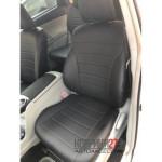 Чехлы из экокожи Toyota Prius 40 Alpha 2011-2017  Автостиль