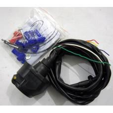 Электрика универсальная  розетка и провода для фаркопа 7 pin.