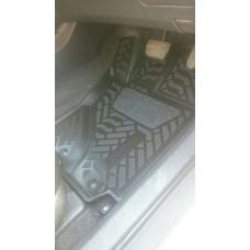 Коврики в салон TOYOTA  Fielder\ Axio 4WD 144, 2006-2012, правый руль., 4 шт. (полиуретан, с бортом)