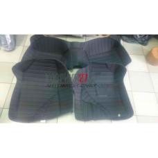 Кожаные коврики 3D для Toyota Axio / Fielder 4WD 165 2012- правый руль