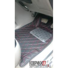 Кожаные коврики 3D для Toyota Kluger