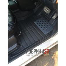 Кожаные коврики 3D для Nissan Note E11 2005-2012 правый руль