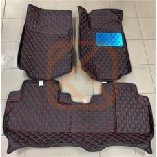 Кожаные коврики 3D для Honda CR-V 2012-2017 правый руль