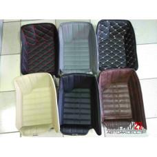 Кожаные коврики 3D для Toyota Hiace 2008 правый руль