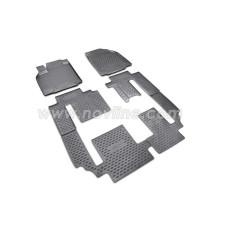 Коврики 3D в салон MAZDA CX-9, 2007-2012, 2012-> 6 шт. (полиуретан)