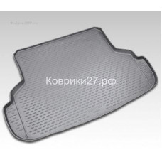 Коврик в багажник SUZUKI SX-4 2010-2013, сед. (полиуретан)