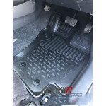 Коврики в салон TOYOTA Allion/Premio 265 2007-2015  4WD правый руль, 4 шт. (борт, полиуретановые)