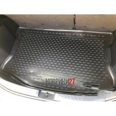 Коврик в багажник TOYOTA Aqua, 2011-2016, хб., П.Р., 1 шт. (полиуретан)