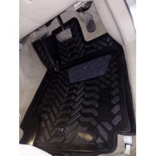 Коврики в салон Toyota Corolla / Allex / Runx 2WD 2001-2007 Правый руль. (3D с подпятником)
