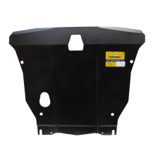 Защита картера Мотодор для Hyundai Accent 2006-2012 на Двигатель, КПП 2 мм, Сталь