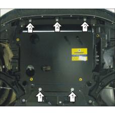 Защита стальная Мотодор на Двигатель, КПП для SUZUKI Swift 2005-2010
